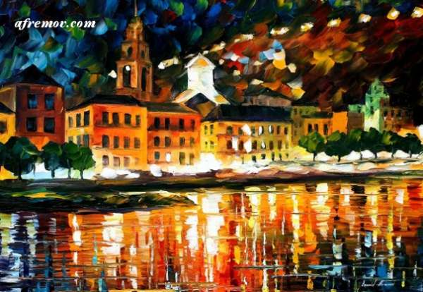 Painting credit: Leonid Afremov, Mexico - afremov.com